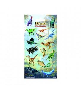 Stickers dinosaurus dino 15 stuks per vel