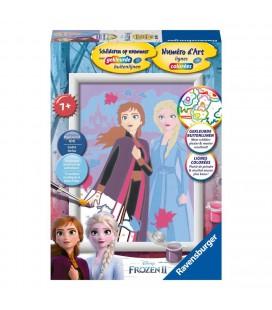 Frozen 2 schilderen op nummer
