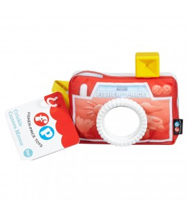Fisher price soft camera met spiegel