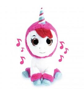 k3 pluche unicorn hanne en muziek 20 cm