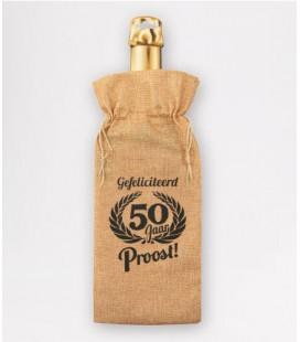 Bottle gift bag -  40 jaar
