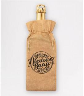 Bottle gift bag -  nieuwe baan