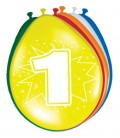 Cijferballonnen verjaardag