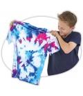 tie-dye ontwerp je eigen shirt / shirt verfen tie dye
